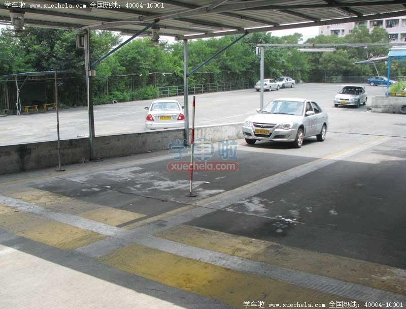 昌明驾校半坡起步和定点停车